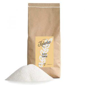 rižev zdrob za priprava mlečnega riževega gresa